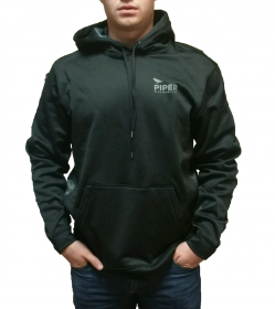 Black and Gray Hoodie