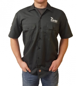 Dickies Button Down T-Shirt