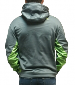 Green and Gray Hoodie
