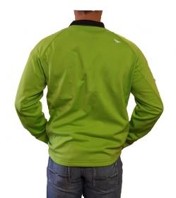 Green Sport-wick 1/4 Zip Pullover