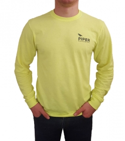 Safety Green Long Sleeve T-shirt