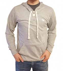 Light Gray Hockey Hoodie